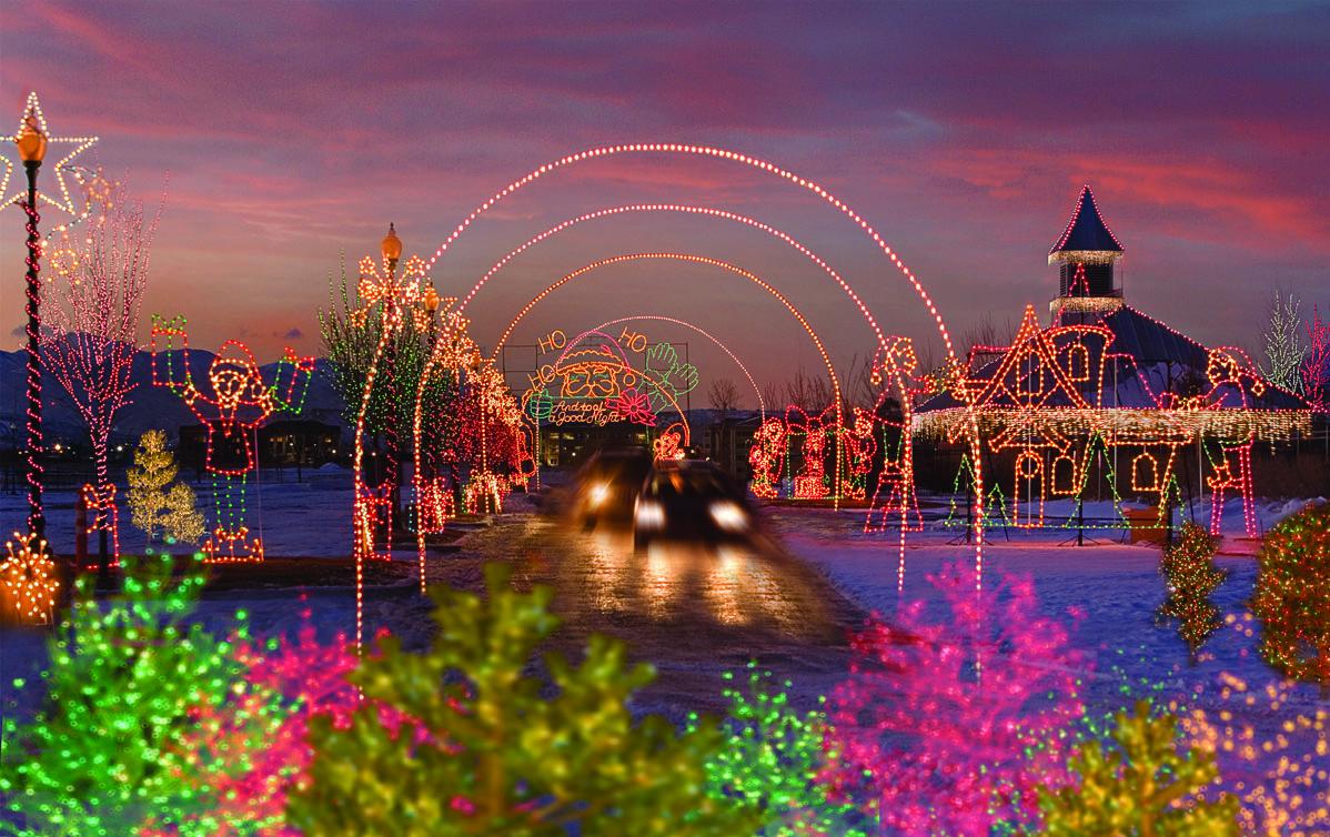 2015 Guide To Christmas Lights Santa And Holiday Fun Around Utah