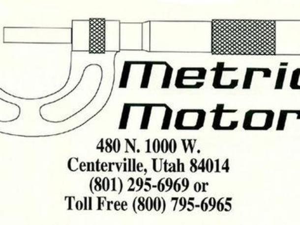 Metric motors utah for Metric motors centerville utah