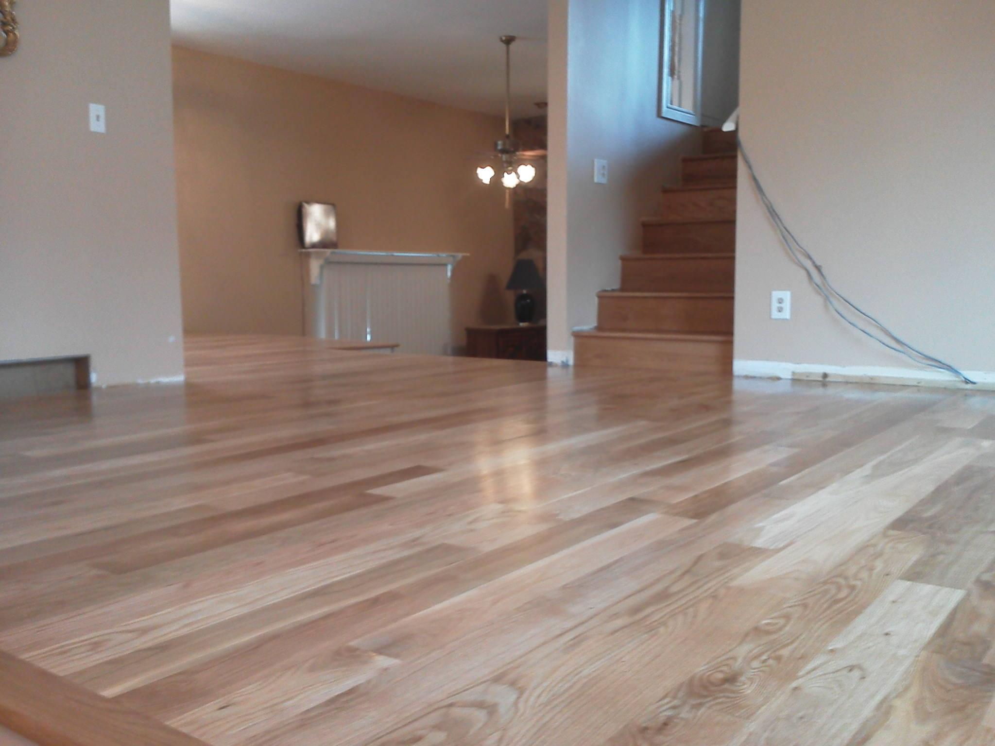 wood floor refinishing engineered