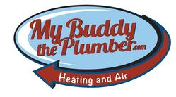 My Buddy The Plumber Heating  Air logo