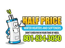 Half Price Water Heaters And Softeners
