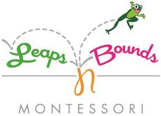 Leaps 'n Bounds Montessori logo