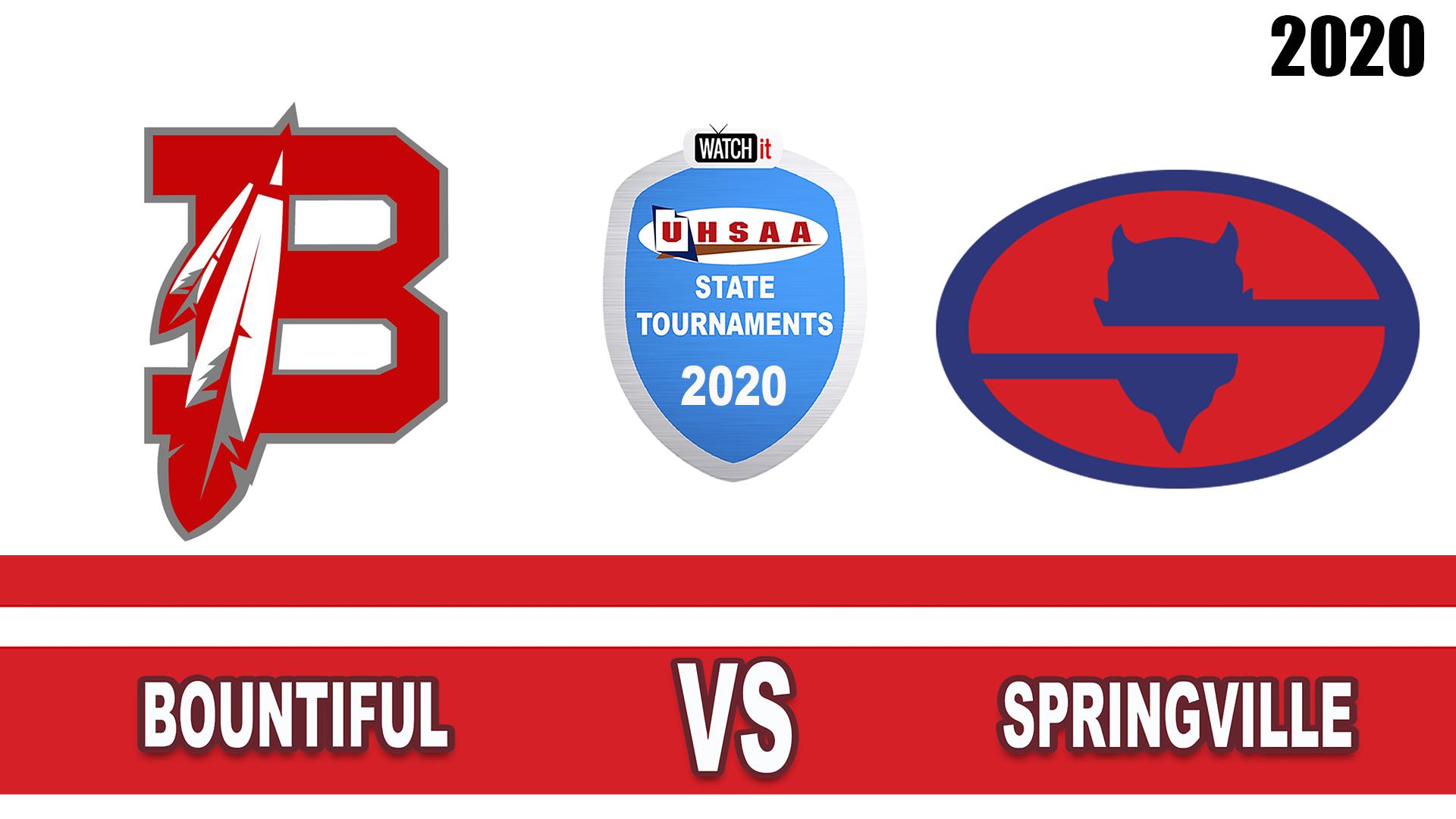 Bountiful vs Springville