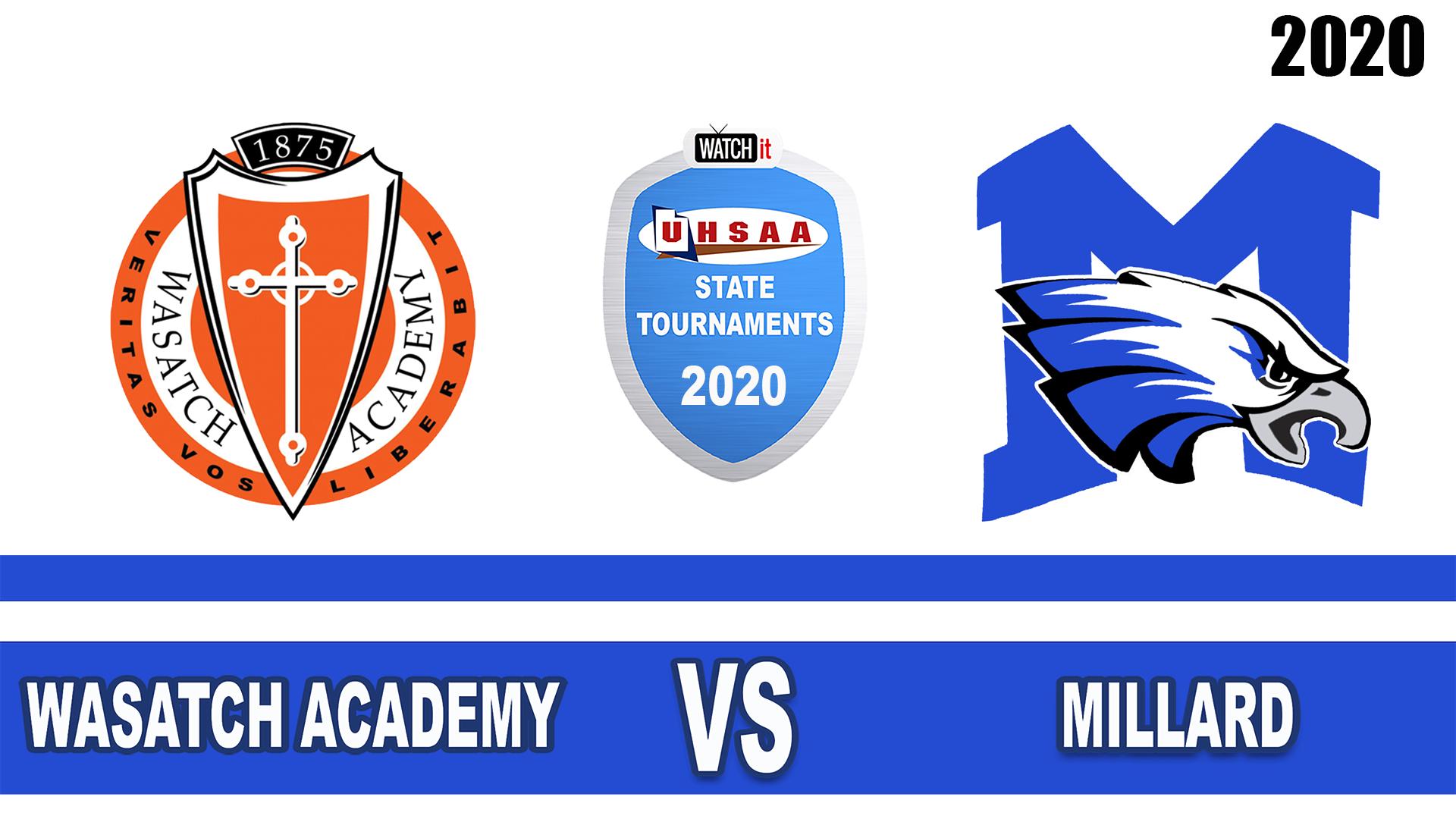 Wasatch Academy vs Millard