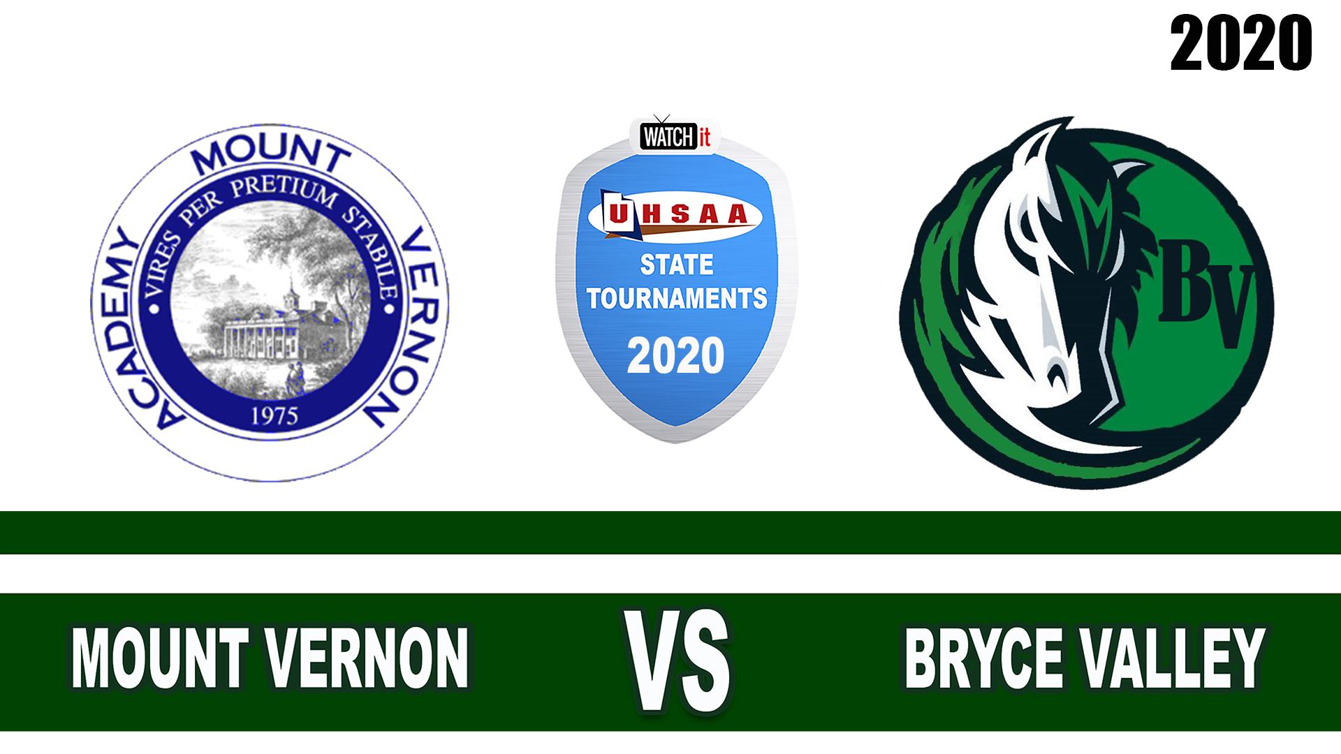 Mount Vernon vs Bryce Valley