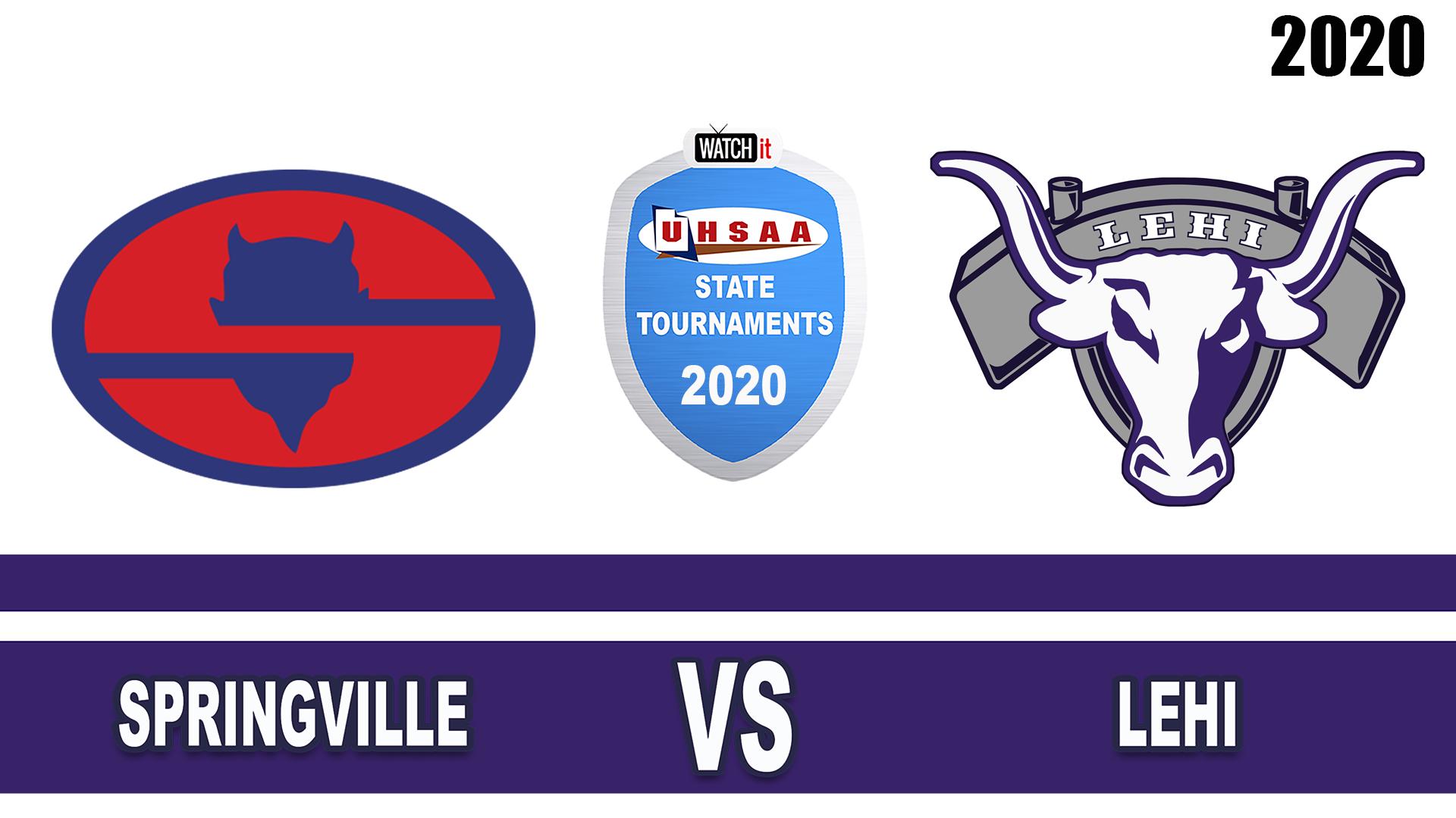 Springville vs Lehi