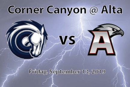 Football: Corner Canyon at Alta High School