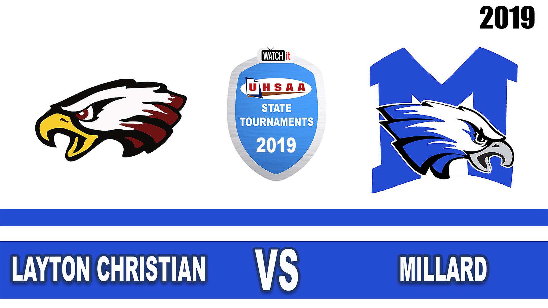 2A boys soccer tournament: Layton Christian vs. Millard