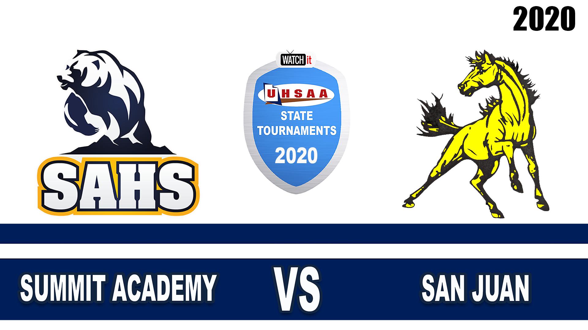 Summit Academy vs San Juan