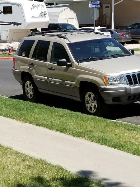 2000 Gold Jeep Grand Cherokee for sale in Roy, UT