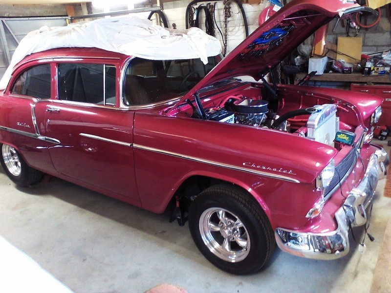 1955 Red Chevrolet 210 for sale in Wells, NV