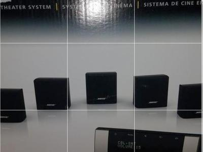 Bose smart home theater system