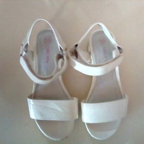 Size 13 white sandals for sale in Plain City , UT