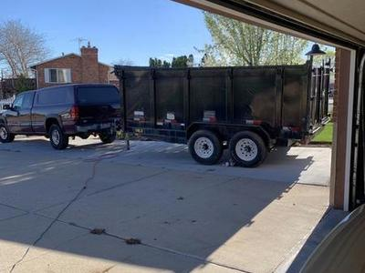 Dump Trailer For Rent 14LX