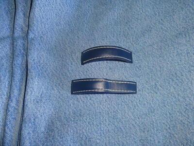 Breitling: Genuine Light Blue Strap