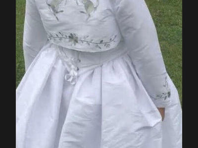 first communion or party dress