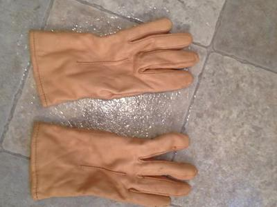 Leather Gloves Women's