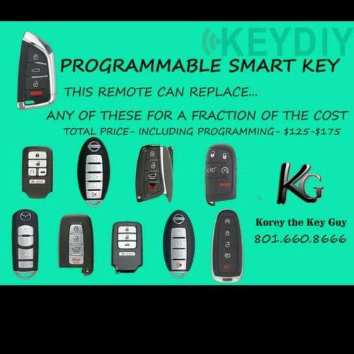 Universal Smart key for Push Button Vehicles  for sale in Herriman , UT