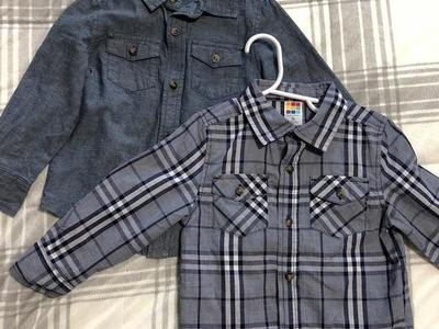 Two Collared Shirts Size 3T