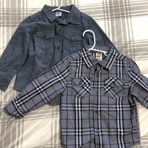 Two Collared Shirts Size 3T for sale in North Salt Lake , UT