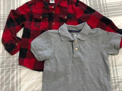 Two Collared Shirts Size 4T
