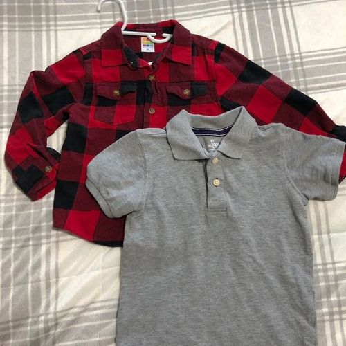 Two Collared Shirts Size 4T for sale in North Salt Lake , UT