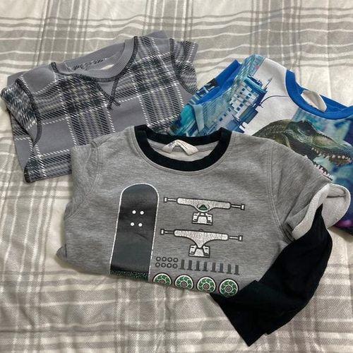 Group Of Boy Sweatshirts Size 4-6 for sale in Farmington , UT