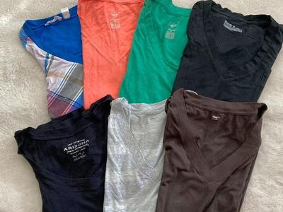 Group Of V-neck T-shirts