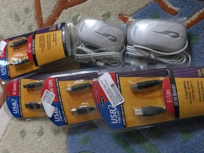 usb cable and computer mouse for sale in Salt Lake City , UT