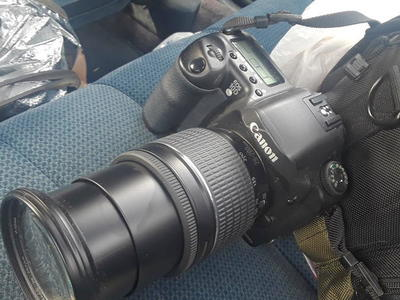Canon EOS 10D and 28-200 MM Lenses