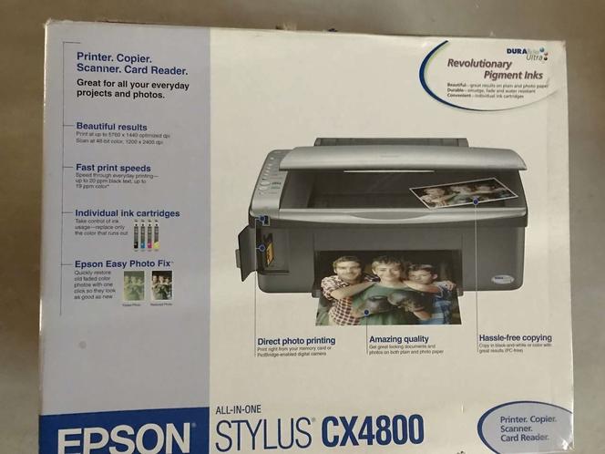 Epson Stylus CX4800 Inkjet Printer Color for sale in Salt Lake City , UT