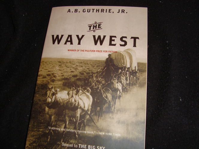 NEW The Way West by Alfred Bertram Jr. Guthrie Paperback Book for sale in Riverdale , UT