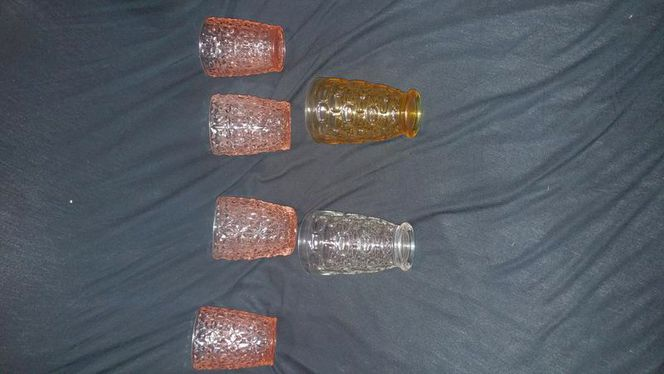 Set of 6 glasses hazelware EL Dorado Granada gold for sale in Riverdale , UT