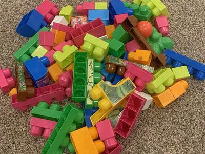 Bag of girly Legos