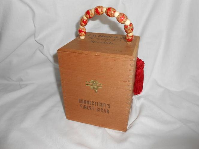 Square Cigar Box Purse for sale in Sandy , UT