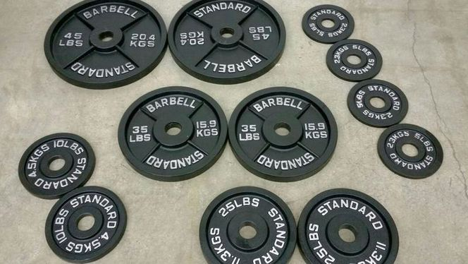 350# IWF (skinny) style Olympic Plate Set - OPS350 for sale in Underdogs Midvale , UT