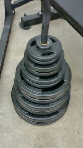 250# Olympic Rubber Grip Set (Brand New) *OPR 250* for sale in Midvale , UT