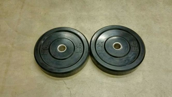45 LB. Bumper Plates Only $130/PAIR!!! *BPRB 045* for sale in Underdogs in Midvale , UT