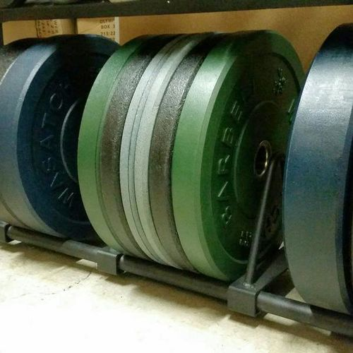 Wasatch ICE Series 280# Bumper Plate Set! for sale in Midvale , UT