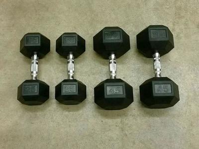 Bench & Curl Dumbbell Set