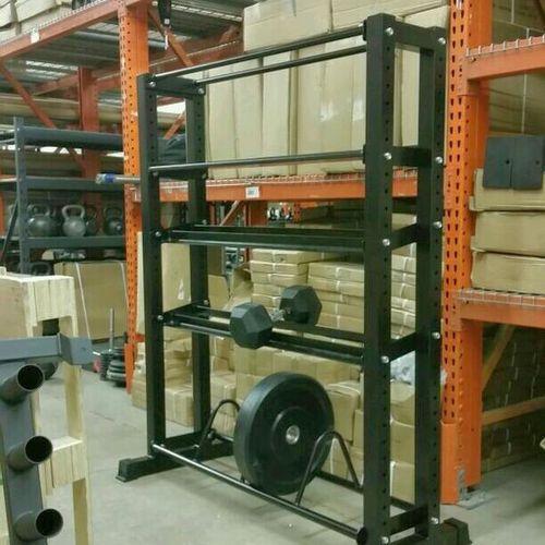 Bumper Plate Dumbbell Kettlebell Wall Ball Storage for sale in Midvale , UT