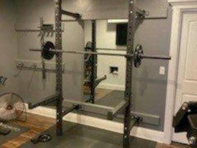 Super Duty Folding Commercial Squat Rack