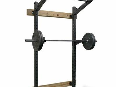 Wall Mount Squat Rack/Bench/Barbell Package