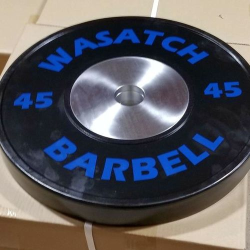 45LB. Wasatch Pro Competition Bumper Plates *BPCB* for sale in Midvale , UT