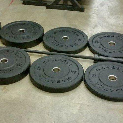 Triple Double Bumper Plate & Bar Package *BPW*  for sale in Midvale , UT