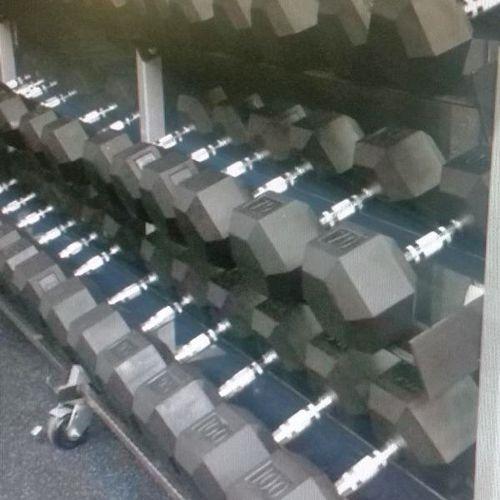 NEW 10-70 Rubber Hex Dumbbell Set *dbw* for sale in Midvale , UT