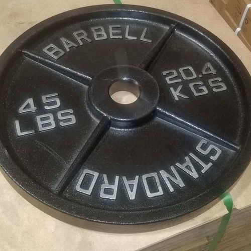 NEW 45 LB Standard Olympic Barbell Plates *OPM for sale in Midvale , UT