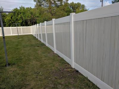 SOD VINYL FENCE PACKAGE DEAL