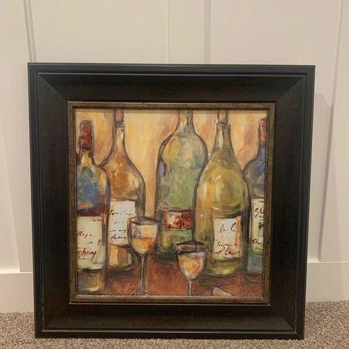 Framed Wine Art  for sale in Layton , UT