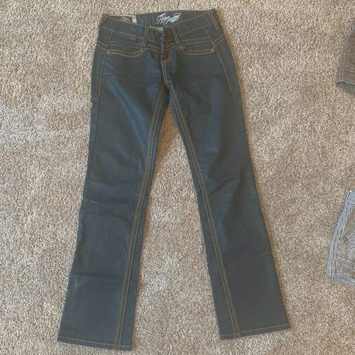 Authentic - Blue Tattoo Jeans - Size 27 for sale in Layton , UT